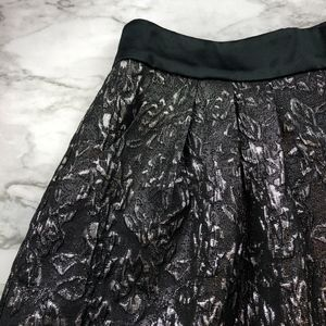 Guess NEW YEARS EVE Party Metallic Flare Skirt